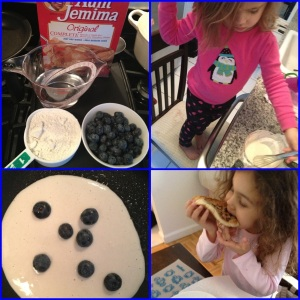Blueberry Pancake Fun!