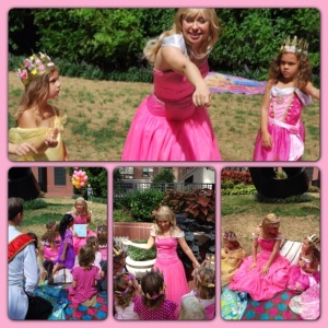 Stories, Songs, Princess Hokey Pokey and lot's of Royal Fun!