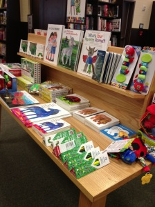 Barnes and Noble also carries toys, games, and other Eric Carle favorites!