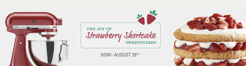 Click the Image to ENTER for a chance to win a KitchenAid Stand Mixer & a year of berries