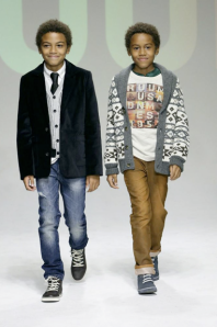 Tristan and Tyler walk the runway in these trendy looks for boys this winter.