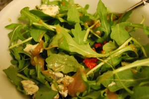 Cheese left over?  The perfect ingredient for any salad!